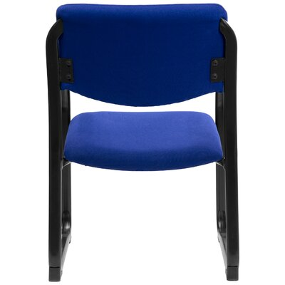 Side Chair with Steel Frame Fabric: Navy
