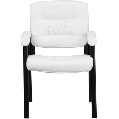 Personalized Leather Reception Chair image