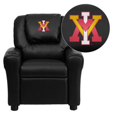 NCAA Kid's Recliner Material: Vinyl NCAA Team: Virginia Military Institute Keydets image