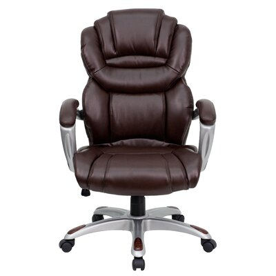 Leather Executive Chair Upholstery Personalized Product Photo