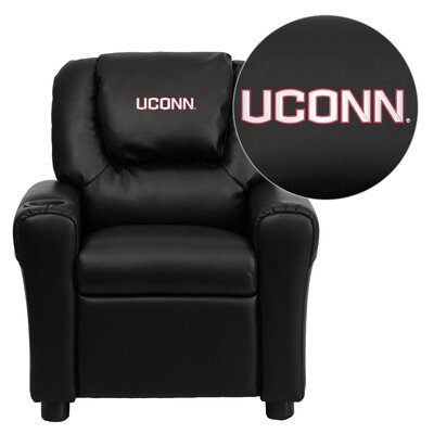 NCAA Kid's Recliner Material: Vinyl NCAA Team: Connecticut Huskies image