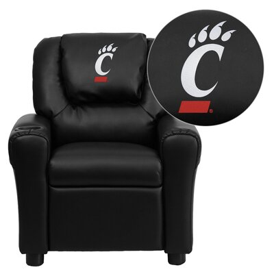 NCAA Kid's Recliner Material: Vinyl NCAA Team: Cincinnati Bearcats image