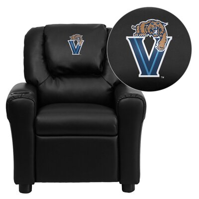 NCAA Kid's Recliner Material: Vinyl NCAA Team: Villanova University Wildcats image