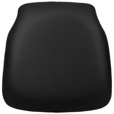 Hard Vinyl Chiavari Chair Cushion Color: Black