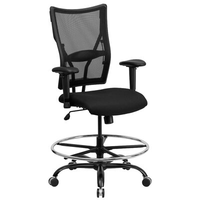 Hercules Series Mesh Drafting Stool with Arms Product Picture 2919