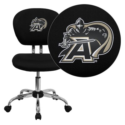 NCAA Embroidered Mid-Back Mesh Task Chair NCAA Team: U.S Military Academy Arms: Not Included image
