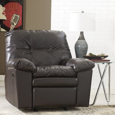 Jordon Rocker Leather Recliner