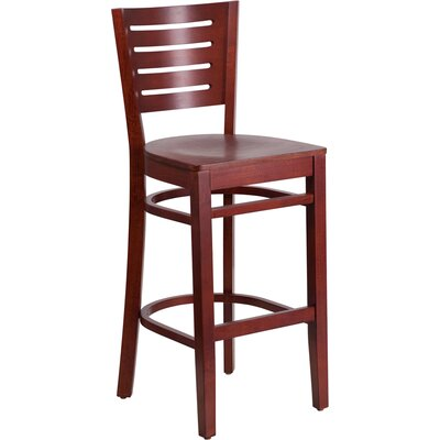 Darby Series 29.25 Bar Stool Finish: Mahogany