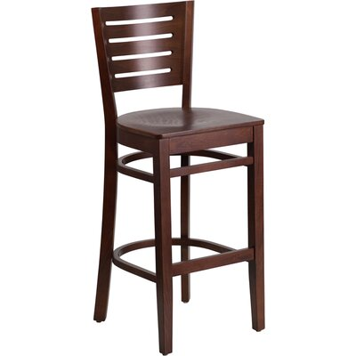 Arnault 29.25 Bar Stool Finish: Walnut