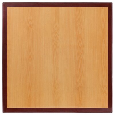 Bantom Square Resin Table Top Size: 24 W x 24 L