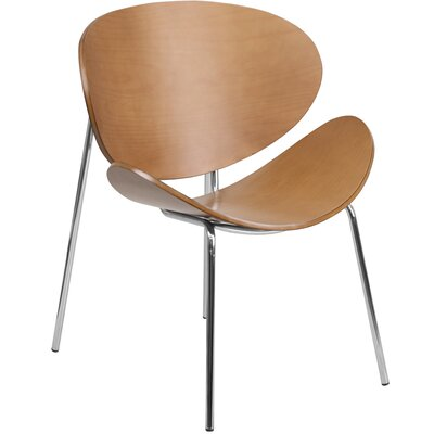 Leisure Reception Guest Chair Finish: Beech