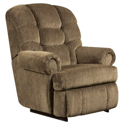 Gazette Big and Tall Microfiber Recliner Upholstery: Basil