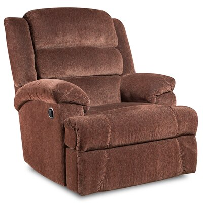 Ron Manual Recliner (Set of 2) Upholstery: Claret