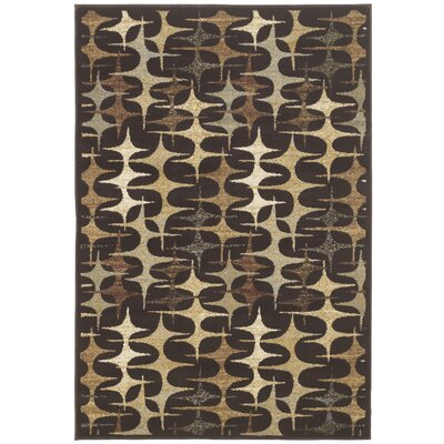 Exceptional Design Stratus Brown/Tan Area Rug