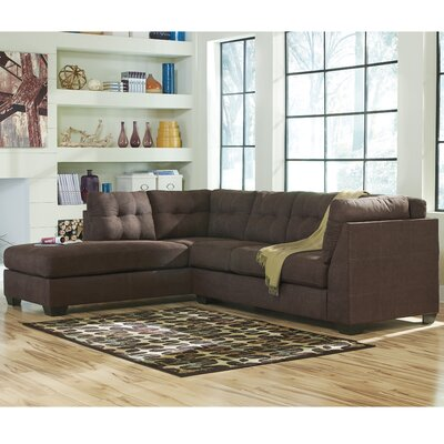 Flash Furniture FBC-2349LFSEC-WAL-GG Maier Sectional Upholstery