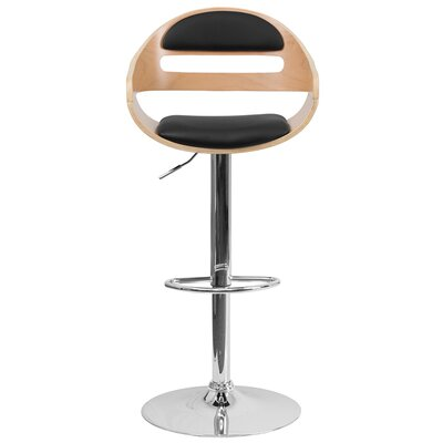 Elko Adjustable Height Swivel Bar Stool