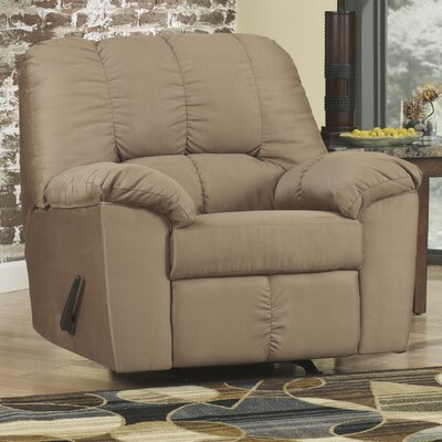 Soledad Manual Rocker Recliner Upholstery: Mocha