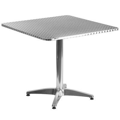 Lula Square Bistro Table Table Size: 31.5 W x 31.5 D