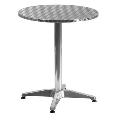 Lula Round Bistro Table Table Size: 23.5 W x 23.5 D