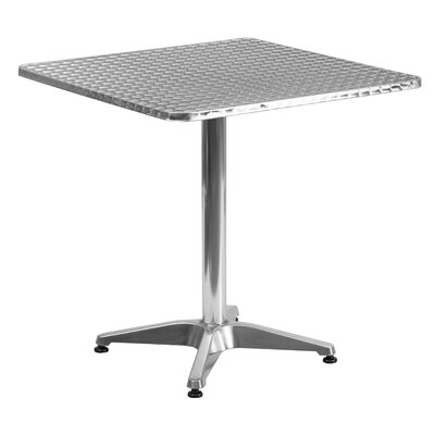 Lula Square Bistro Table Table Size: 27.5 W x 27.5 D