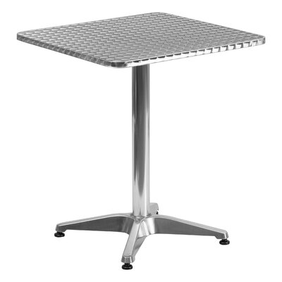 Lula Square Bistro Table Table Size: 23.5 W x 23.5 D
