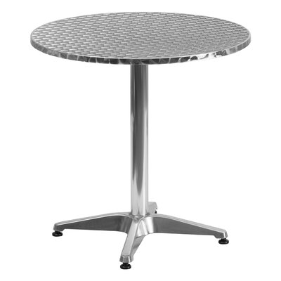 Lula Round Bistro Table Table Size: 27.5 W x 27.5 D