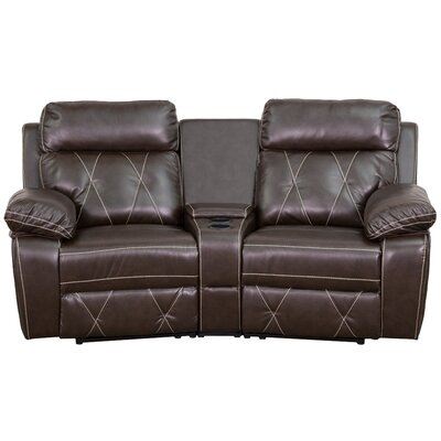 Real Comfort Series Home Theatre Recliner BT-70530-2-BRN-CV-GG