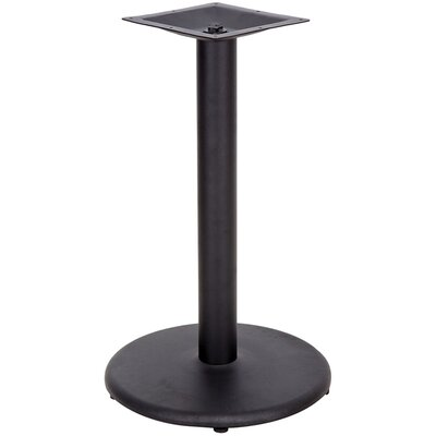 Round Shaped Restaurant Table Base with 3 Diameter Column Quantity: Set of 15, Size: 24 Round / Bar Height