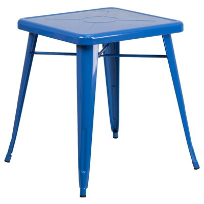 Dining Bistro Table Finish: Blue