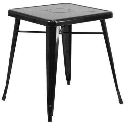 Dining Bistro Table Finish: Black