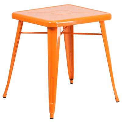 Dining Bistro Table Finish: Orange