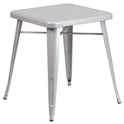 Dining Bistro Table Finish: Silver