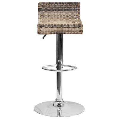 Applewood Adjustable Height Swivel Bar Stool (Set of 2)