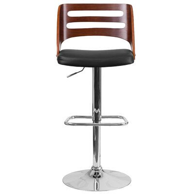 Auriga Adjustable Height Swivel Bar Stool