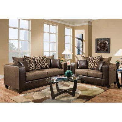 Dilorenzo 2 Piece Living Room Set