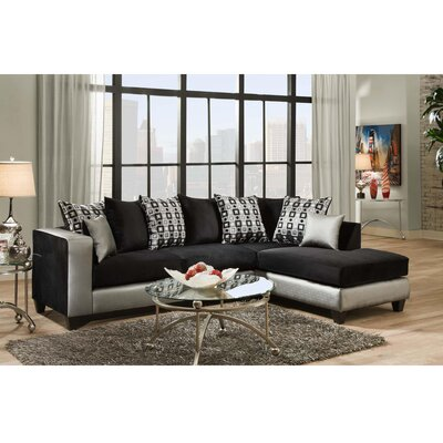 Dilorenzo Modern 2-Piece Sectional