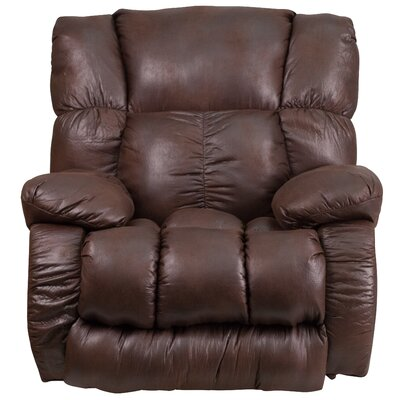 Dhiraj Manual Rocker Recliner (Set of 2) Upholstery: Espresso