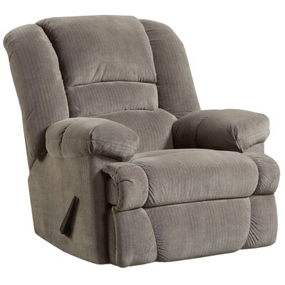 Saumya Manual Rocker Recliner Upholstery: Smoke