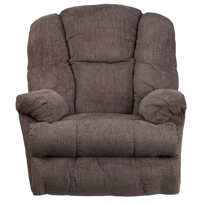 Akhill Manual Rocker Recliner Upholstery: Pewter