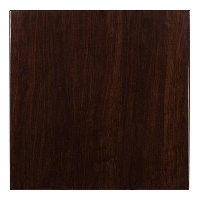 Wharton Table Top Size: 1.75 H x 36 W x 36 D