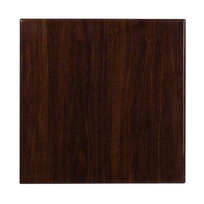 Wharton Table Top Size: 1.75 H x 24 W x 24 D