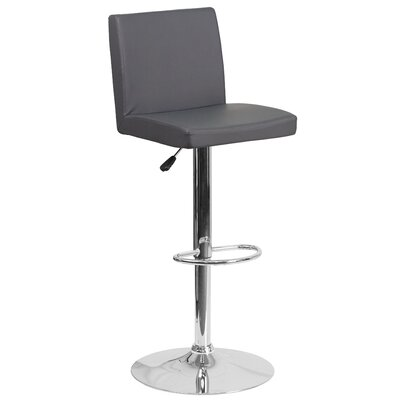 Nolen Adjustable Height Swivel Bar Stool