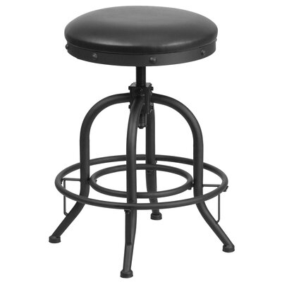 Danita Adjustable Height Swivel Bar Stool