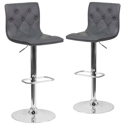 Niven Adjustable Height Swivel Bar Stool
