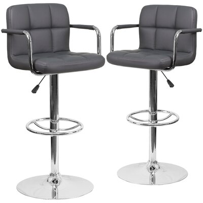 Cullison Adjustable Height Swivel Bar Stool