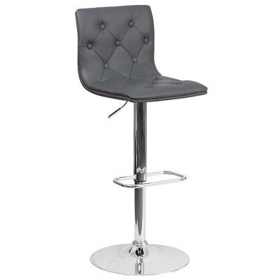 Nocera Adjustable Height Swivel Bar Stool