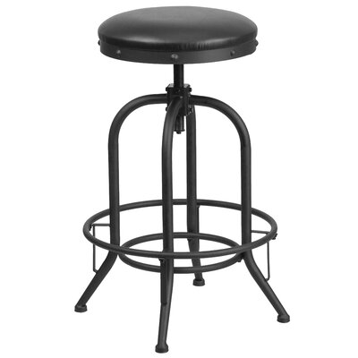 Karyl Adjustable Height Swivel Bar Stool
