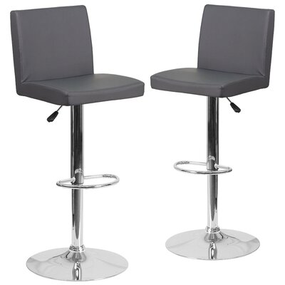 Nobles Adjustable Height Swivel Bar Stool