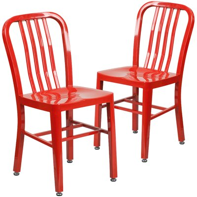 Side Chair Finish: Red
