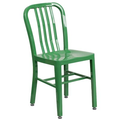 Side Chair Finish: Green